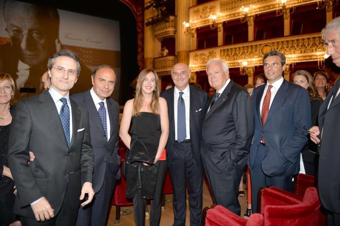 Anche il ministro Maria Elena Boschi alla festa per i 100 anni della maison di cravatte Marinella