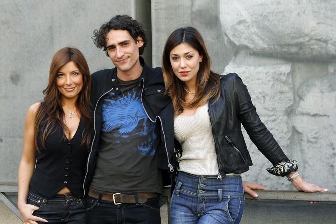 Con Belen Rodriguez, per la serie «C'eravamo tanto amate...»