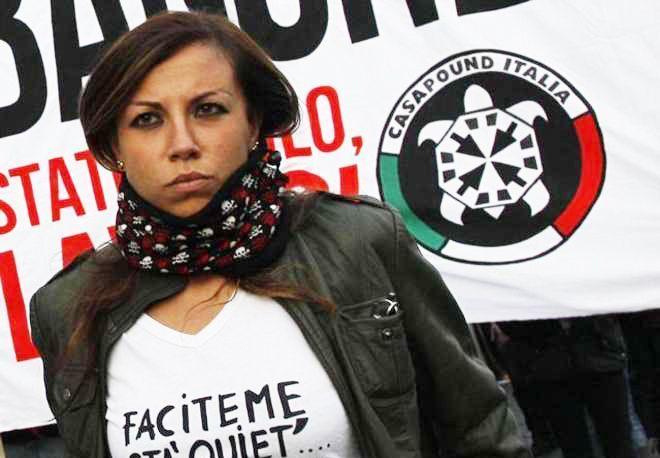 Emmanuela Florino leader  casapound