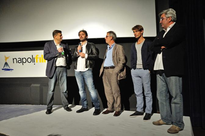 Napoli Film Festival 2014 Francesco Prisco Gianfelice Imparato Giorgio Pasotti e Antonio Milo