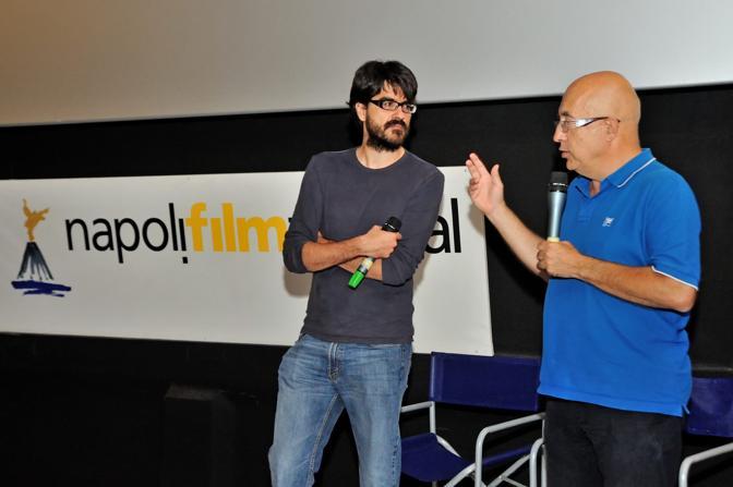 Napoli Film Festival parole di cinema incontro con Roan Johnson Roan Johnson e Augusto Saitati