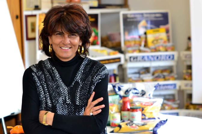 La manager Marina Mastromauro