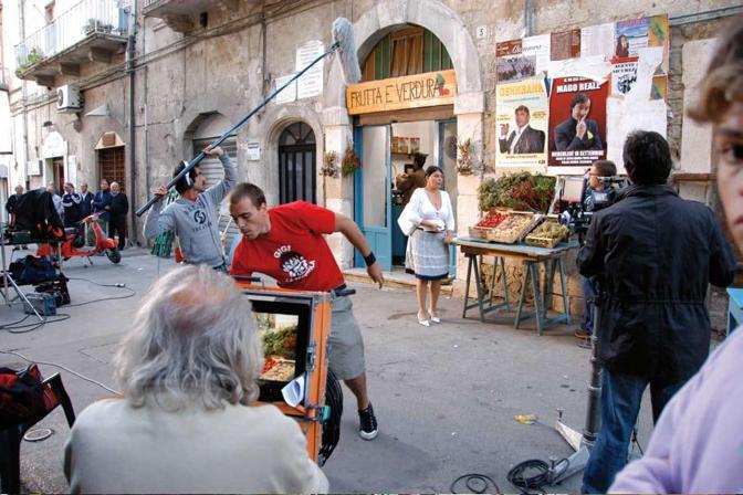 Altamura, Bari - FOCACCIA BLUES di Nico Cirasola PABLO Film di Alessandro Contessa - ©foto Vittorio Arcieri 2009