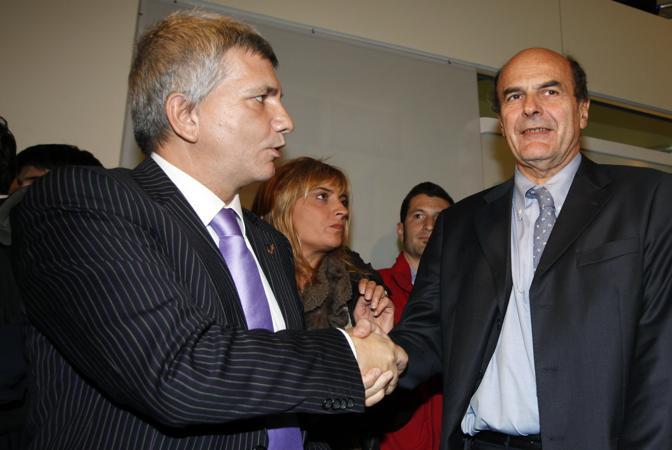 29-10-2009: Roma, Partito democratico - incontro Bersani Vendola