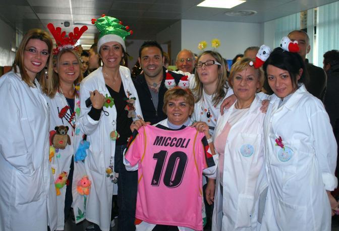 La visita all'ospedale Vito Fazzi di Lecce