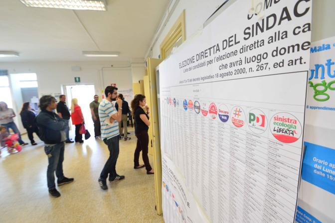 Elezioni comunali ed europee con i candidati sindaci e seggi elettorali