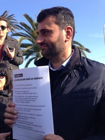 Antonio Decaro candidato alle primarie del Pd per la corsa a sindaco di Bari