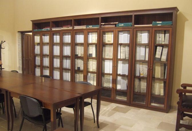 Spazi dell'Archivio Storico di Taormina
