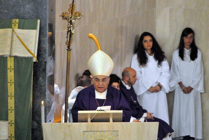 L'omelia è stata pronunciata dal cardinale di Palermo, Paolo Romeo. «Preghiamo anche per Samuele», ha detto, riferendosi al giovane arrestato per l'omicidio