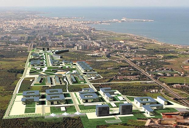 Il futuro nel quartiere da 8mila abitanti a bari il premio for Numero abitanti di bari