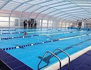 Un polo acquatico a baronissi con piscina coperta e for Piscina wspace bari