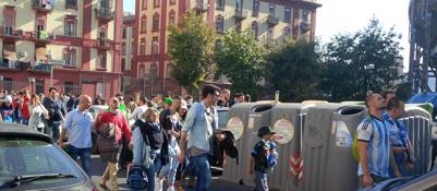 Napoli-Roma, partita ad alta tensioneSeicento agenti, blindato anche il cielo