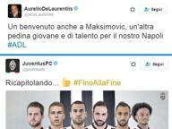 È già Napoli-Juve (a colpi di tweet)