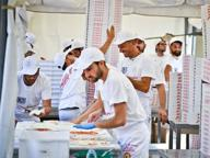 Pizza, Martina Franca batte Napoli Sfornate 5.836: guiness world record