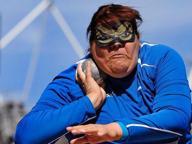 Paralimpiadi, medaglia d'oro per la Legnante nel lancio del peso