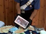 Napoli, panetto di cocaina con l'immagine di Cristiano Ronaldo