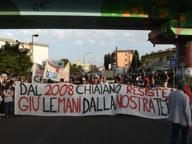 Napoli, corteo a Chiaiano contro l'ipotesi di discarica