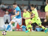 Al San Paolo striscione contro De Laurentiis per il caro biglietti