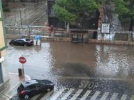 Ancora nubifragio a Bari Strade in tilt, Fiera allagata