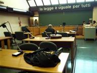 Testimone aggredisce un giudice durante udienza in tribunale