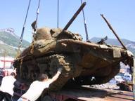 La nuova vita dello Sherman DD, pronto a «marciare» su Salerno