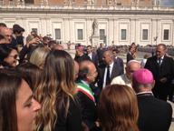 Il Papa: «Pregate per Giacomo» Delegazione tarantina a Roma