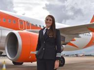 Kate, la pilota 26enne che ama Bari «Ha un aeroporto emozionante»