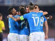 Napoli-Benfica: è poker azzurro Record storico, delirio al San Paolo