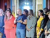 La moda di Martino Midali sfila a Napoli e sostiene il Pallonetto