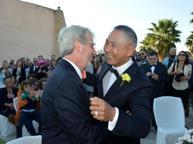 Due lui si dicono «sì» al Fortino «Per incoraggiare tutti gli altri»