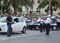 Protestano i vigili urbani di Bari: troppo lavoro e poca organizzazione