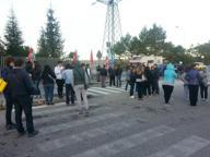 Alba di blocchi davanti alla Natuzzi Cancelli presidiati contro gli esuberi