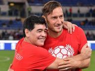 Maradona: «Il Napoli batte la Roma Ma Totti deve giocare fino a 50 anni»