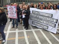 Protesta dei cancellieri in Tribunale: saltate numerose udienze a Napoli