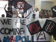 Napoli-Besiktas, in città anche cinque poliziotti turchi