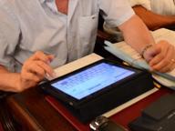 Basta carta, i lavori si seguono online Alla Regione debutta il tablet
