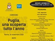 «Puglia una scoperta tutto l'anno» L'offerta turistica sbarca a Roma