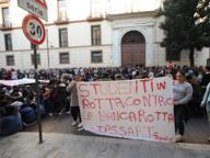 Caserta, contro la cattiva scuola studenti in piazza