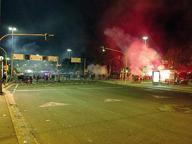 Napoli, sassaiola tra tifosi e polizia prima della sfida con la Dinamo Kiev