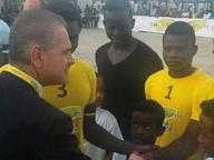 Partite con i migranti e incasso per il castello, il calcio pugliese ha un cuore