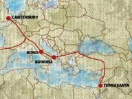 Brindisi o Santa Maria di Leucama dove finisce la via Francigena?