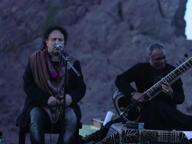 Avitabile canta sul cratere: concerto soul sul Vesuvio