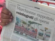 Licenziati Fiat, parlano gli operai reintegrati