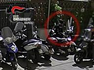 Ruba scooter all'università, incastrato dalle telecamere