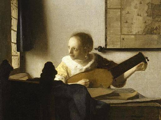 La suonatrice di liuto di Veermer in mostra a Capodimonte
