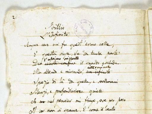 Da Tasso fino a Leopardi, in mostra i manoscritti dei grandi poeti italiani