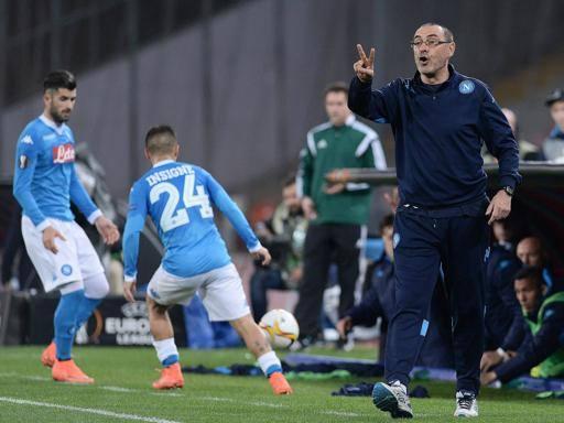 Esordio Champions, il Napoli ci prova In assoluto debutto di Sarri