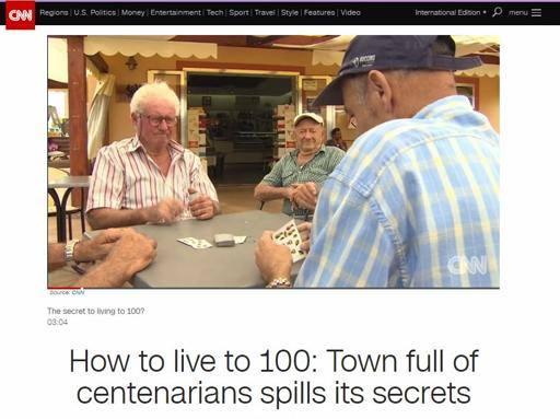 Come vivere fino a cent'anni, Cnn svela segreti di Acciaroli