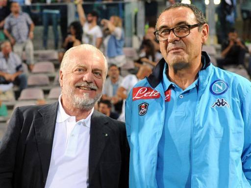 De Laurentiis stoppa Sarri su arbitri: «Decisioni vanno sempre rispettate»
