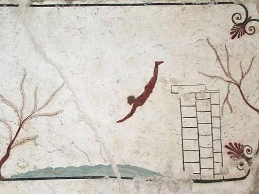 Paestum, l'annuncio di Zuchtriegel: «Scoperta l'identità del Tuffatore»